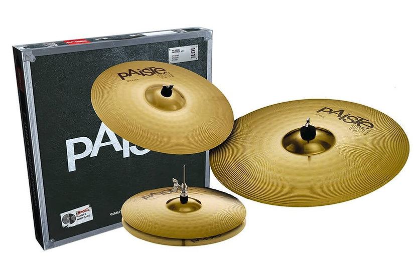 Paiste 101 Brass 3pc Universal Cymbal Set