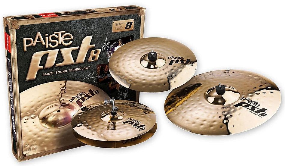 Paiste PST 8 3pc Rock Cymbal Set