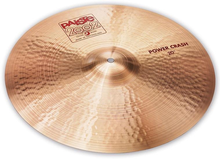 "Paiste 20"" 2002 Power Crash Cymbal"