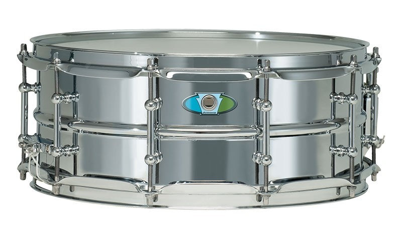 "Ludwig Supralite Steel Snare Drum - 14"" x 5.5"""