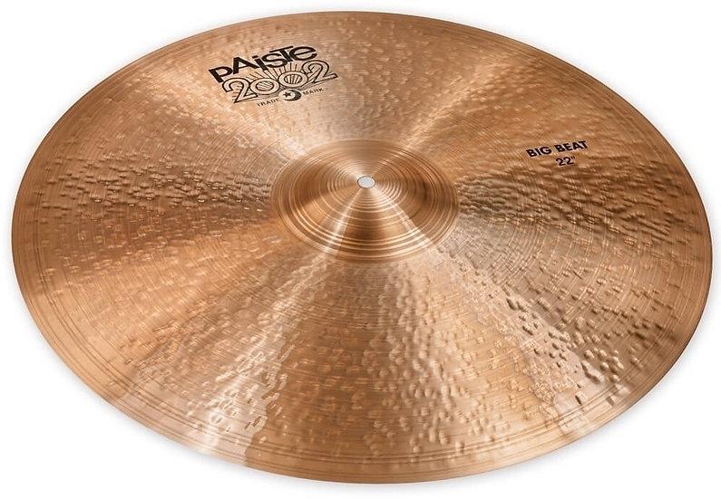 "Paiste 22"" 2002 Black Big Beat Cymbal"