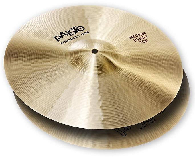 "Paiste 15"" Formula 602 Classic Sounds Medium Hi Hat Cymbals"
