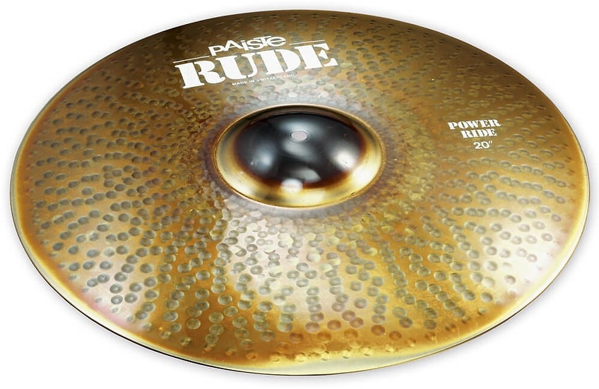 "Paiste 20"" RUDE Power Ride Cymbal"