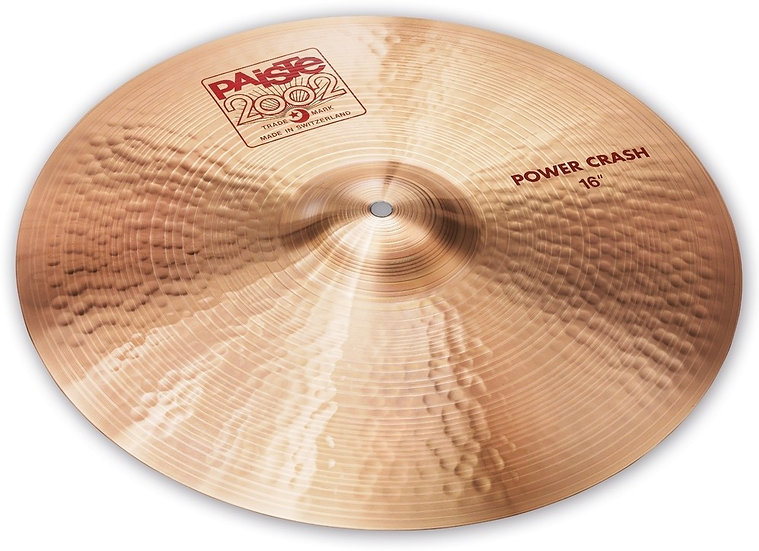 "Paiste 16"" 2002 Power Crash Cymbal"