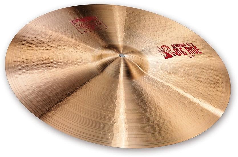 "Paiste 24"" 2002 REV ""BIG AL"" Ride Cymbal"