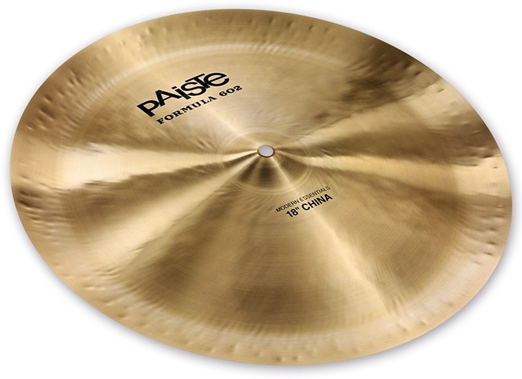 "Paiste 18"" Formula 602 Modern Essentials China Cymbal"