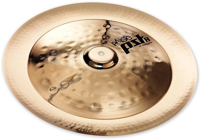 """Paiste 18"""" PST 8 Reflector Rock China Cymbal"""