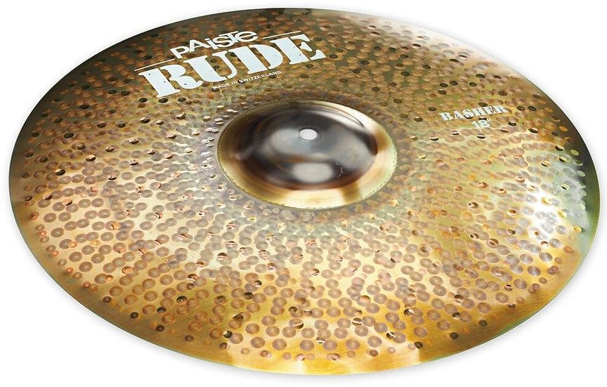 "Paiste 18"" RUDE Basher Cymbal"