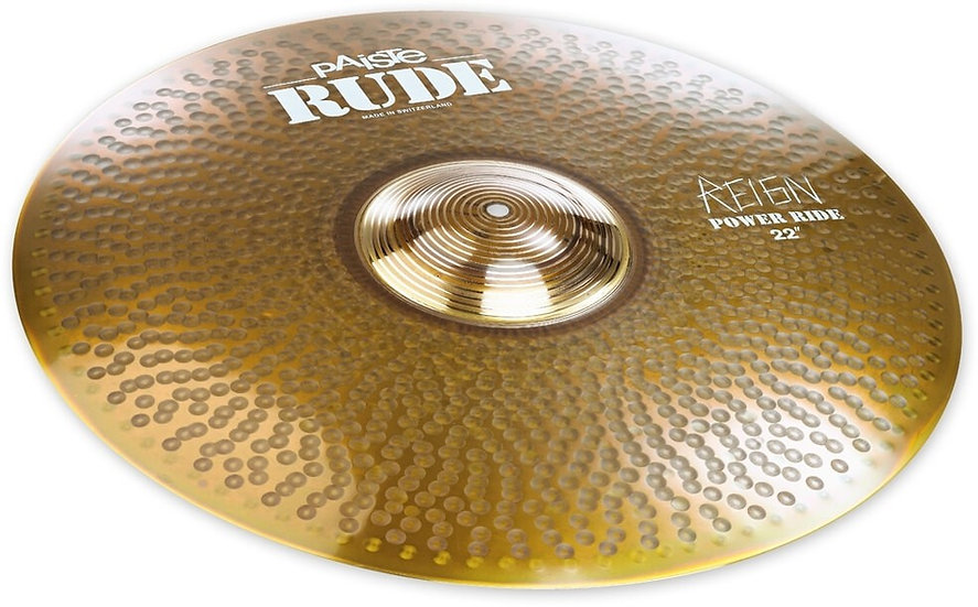 """Paiste 22"""" RUDE Power Ride The Reign Cymbal"""