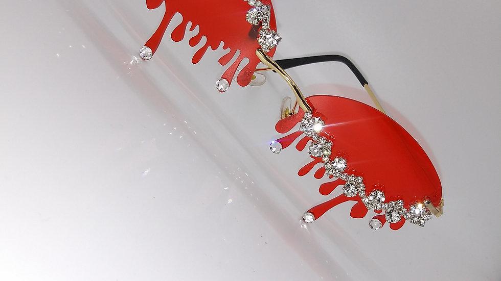 Red drip frames