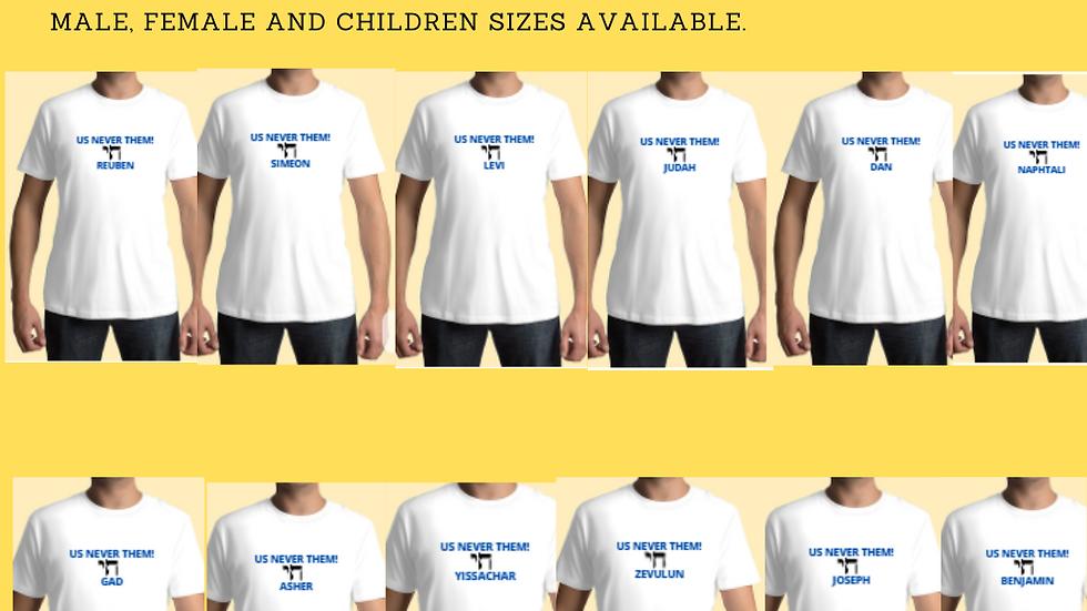 12 tribes tshirt