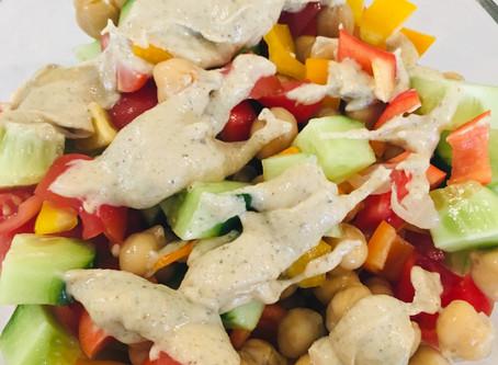 Protein Punch Work Salad