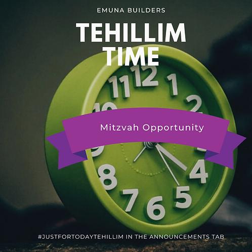 Dedication 1 Day of Daily Tehillim