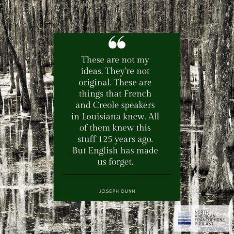 Davantage de Perspectives louisianaises - Joseph Dunn