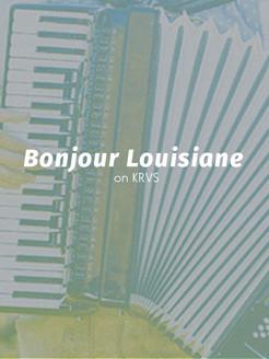 Bonjour Louisiane on KRVS