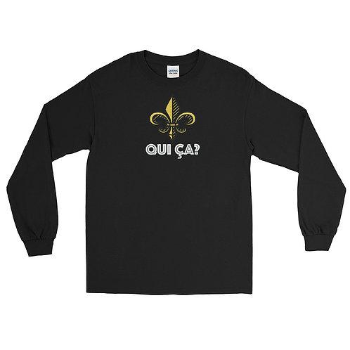 Qui Ça - Men's Long Sleeve Shirt