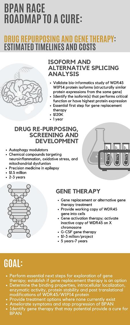 BPAN RACE Gene Therapy