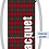 Thumbnail: Plaid Red Double Faced Designer Quilted Sack