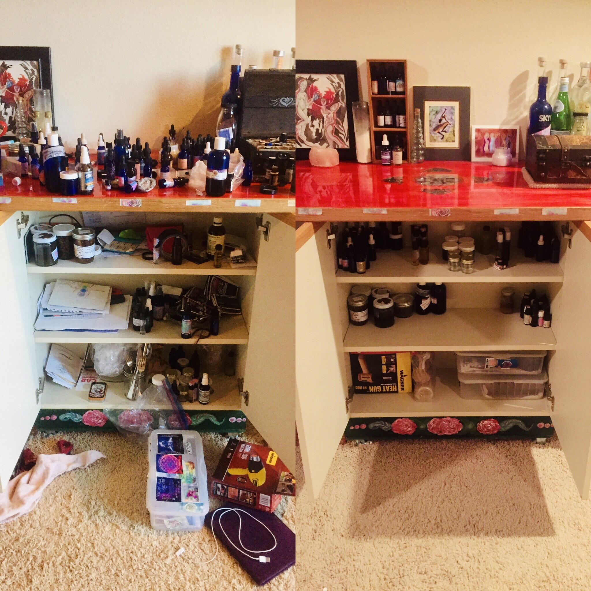 Essential Oils Cabinet
