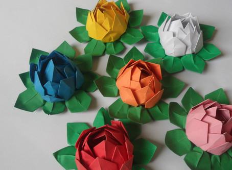 14 марта, суббота, 13.00 - 15.00 || Мастер-класс по оригами