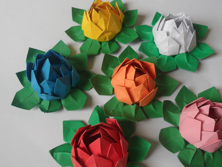 06 октября, суббота, 13.00-15.00 | Мастер-класс по оригами