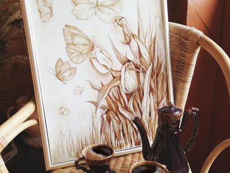 10 ноября, суббота, 13.00-15.00 | Кофейное рисование