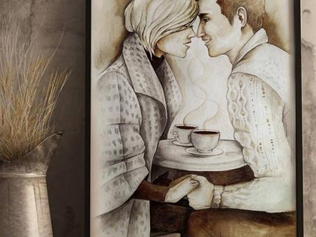 05 октября, суббота, 13.00 - 15.00 || Кофейное рисование