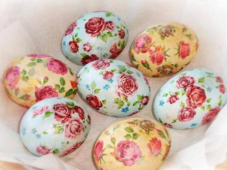 27 апреля, суббота, 13.00-15.00 | Мастер-класс по декупажу яиц к Пасхе