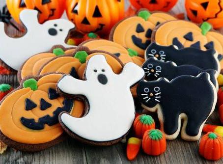 27 октября, суббота, 13.00-15.00 | Роспись имбирного печенья к Хэллоуину