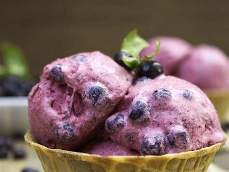 Huckleberry Ice Cream?