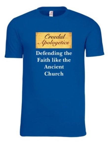 Creedal Apologetics: Defending the Faith like the Ancient Church (Royal Blue)