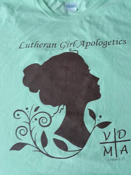 LutheranGirl LOGO Tshirt