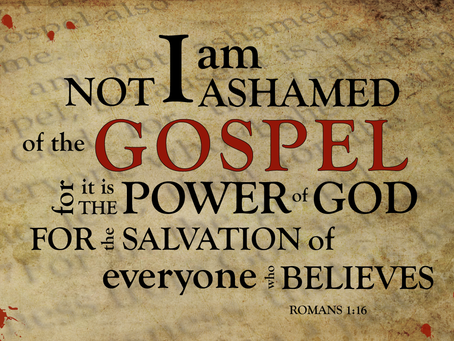 The Power of God unto Salvation is NOT your Testimony