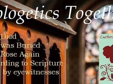 #ApologeticsTogether Lesson