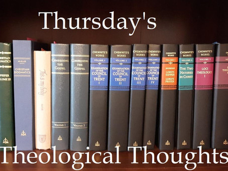 Thursday's Theological Thoughts:  A Baptismal Reminder Found in Ash Wednesday