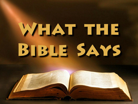 """When """"I believe"""" supersedes """"Scripture says..."""""""