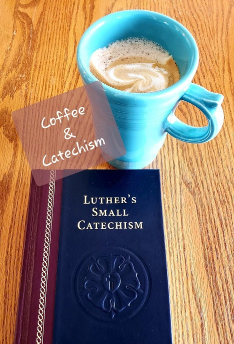 Photo & new Blog Section Logo for Coffee & Catechism courtesy of Debby Longenecker. **