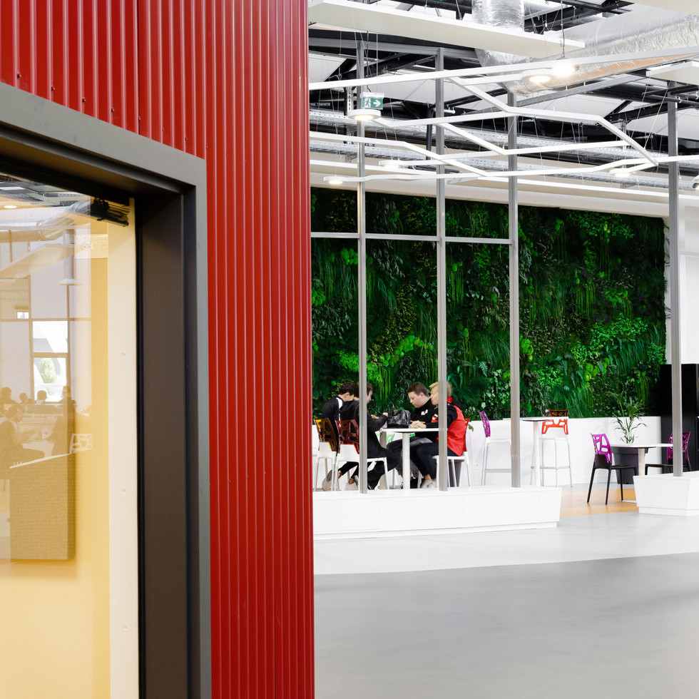 CRR Architecture - Hall 32 - Clermont Ferrand