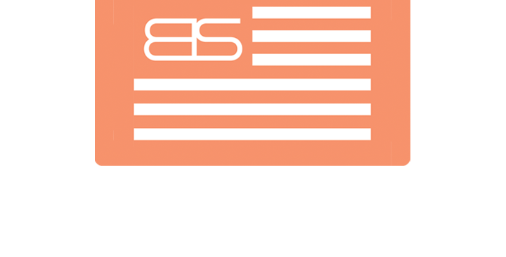 Big Strapper '8S' Flag Air Freshener | Honey Peach
