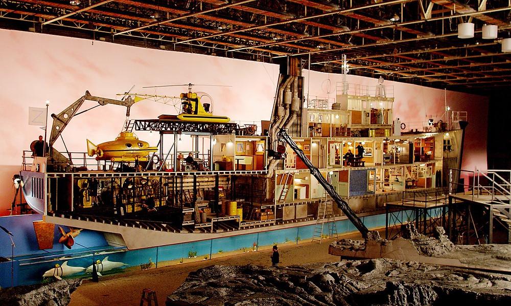 Full Scale Submarine Set