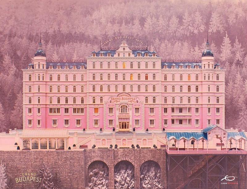 Grand Budapest Hotel Miniature