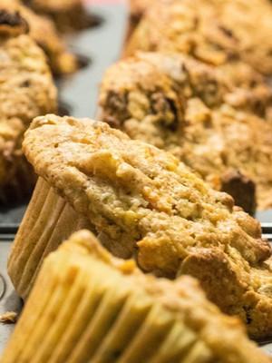 Muffins ananas-carotte