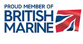Proud member of British Marine cmyk eps