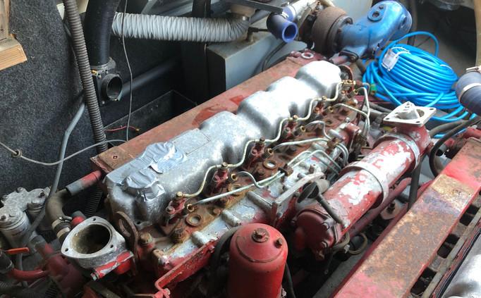 Bonito starboard engine