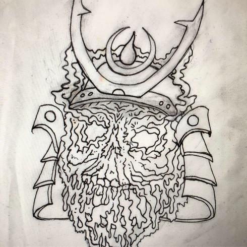 Soy Sauce Shogun - drawing