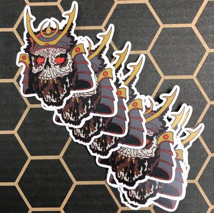Sauce Shogun stickers
