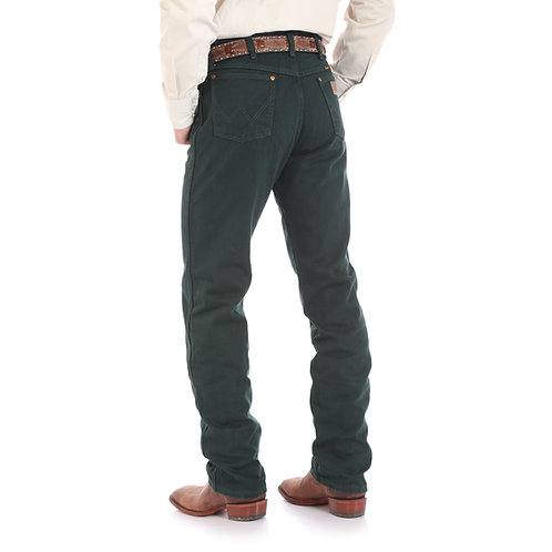 Wrangler Dark Green Original fit jeans