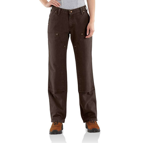 Carhartt Washed-Duck Double-Front Work Dungaree