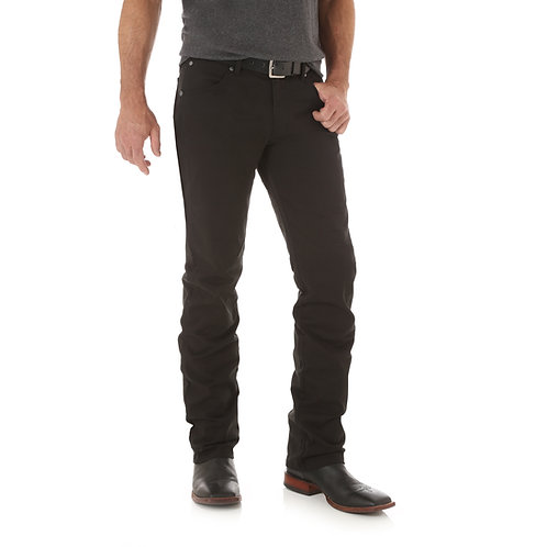 Retro Slim Straight Twill Black