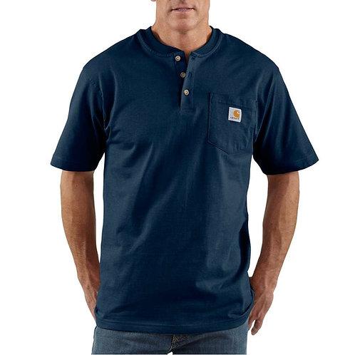 Carhartt Short-Sleeve  Henley T-Shirt